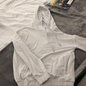 White lululemon hoodie